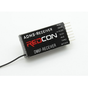 Redcon DM6F 2.4GHz DMSS 6CH Parkfly Receiver