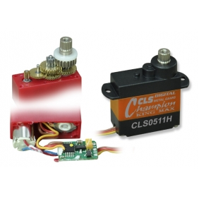 CLS0511H---5g high performance metal gears micro coreless servo for micro 3D helis and F3A airplanes