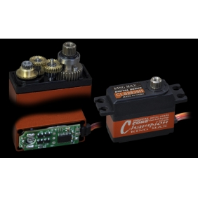 CLS2845H---28g 4.5kg.cm torque high performance coreless servo for 450-500 class helicopter tail