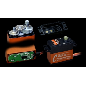 CLS6224CHV---62g high voltage 24kg.cm torque high-precision metal gears digital coreless standard servo for cars