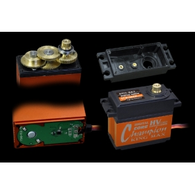 DCS16942CHV---169g 42kg.cm digital brushed servo for 1/5 car