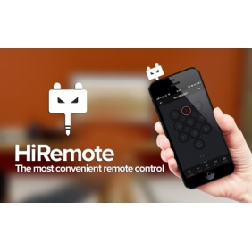 HiRemote V2 IOS iPHONE PLUS iPAD Infared Universal Mobile Phone IR Remote controller for TV DVD Loudspeaker Air conditioner WITH Learning Function