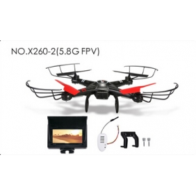 XK 4CH 6-AXIS QUADCOPTER X260-A X260 with 5.8G FPV