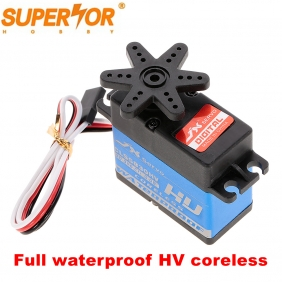 JX CLS5830HV 30KG coreless 0.09 sec servo Full waterproof 8.4V for 1/10 RedCat HPI Baja 5B SS 1/8 RC car buggy Crawler