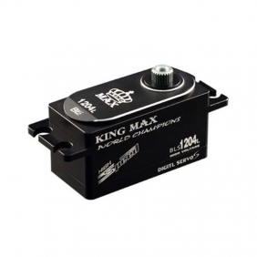 KingMax BLS1204L 50g 12kg digital metal gears low profile servo 1/8, 1/10 racing car electric drift car 600-700 helicopter tail