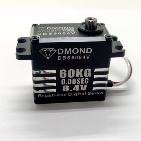 DBS6084V DMOND 60KG 0.08sec Brushless 8.4V IP68 Waterproof stainless Gear Servo 1/8 RC Car Crawler Futaba A700