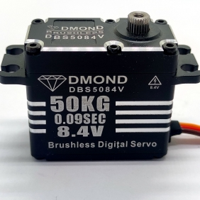 DBS5084V DMOND 50KG 0.09sec 8.4V Brushless Waterproof Stainless Gear Monster Killer Servo Futaba integrated circuit Crawler Buggy